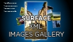 Surface XML Images Gallery AS3