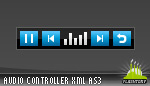 Mini Mp3 Player Sound Controller AS3