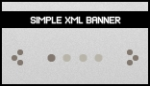 Simple XML Banner Rotator Slideshow Gallery