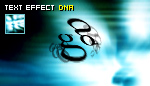 PJ text effect - DNA
