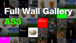 Full wall gallery v1.0 images and video