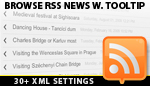 Browse RSS News with ToolTip