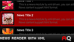 News Reader with XML