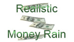 Realistic Money Rain