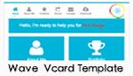 Waveselfcard-Responsive Vcard Portfolio Template