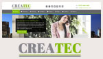 CreaTec - Business Website Template