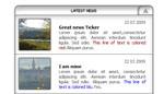 Simple News Ticker by XML AS3