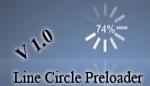 Line circle preloader  v 1.0
