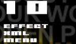 10 Effect XML menu