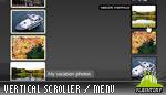 Vertical Scroller Motion Blur