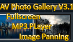 AV Photo Gallery V3.1 - Resizable