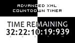XML Countdown Timer - B_W V2