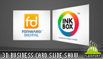 3D Business Card Slide Show AS3