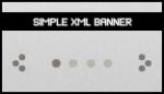 Simple XML Banner Rotator Slideshow Gallery