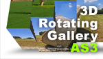 3D ROTATING GALLERY