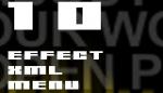 10 Effect XML menu