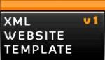 xml website template v1