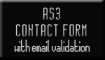 XML Contact Form with email validation